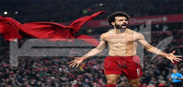 محمد صلاح ضمن قائمة أغلى 5 لاعبين في العالم